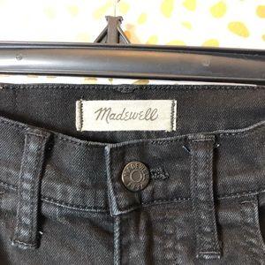 Madewell Jeans - MADEWELL BLACK wise leg crop jean SZ 25